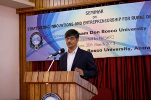 Seminar on Strategizing Innovations and Entrepreneurship for Rural Development