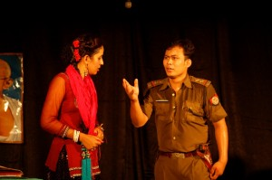 DBCET Holds Inter College Drama Competition