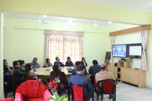 Video Conference on National Digital Library