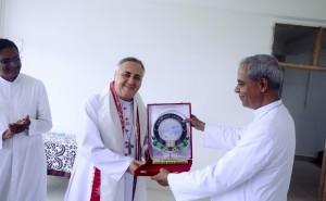 Apostolic Nuncio to India at Tapesia Campus