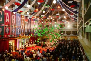 University conferred degrees to 728 students