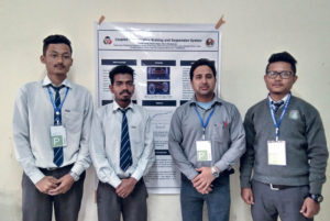 Mechanical Students won Best Poster Presentation